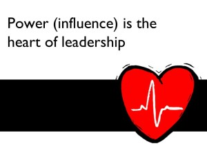 Power is the heart of leadership