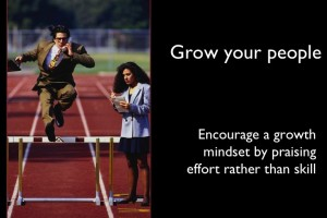 Encourage A Growth Mindset