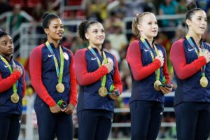 Gabby Douglas Honors The National Anthem Exactly As I Do #love4gabbyusa